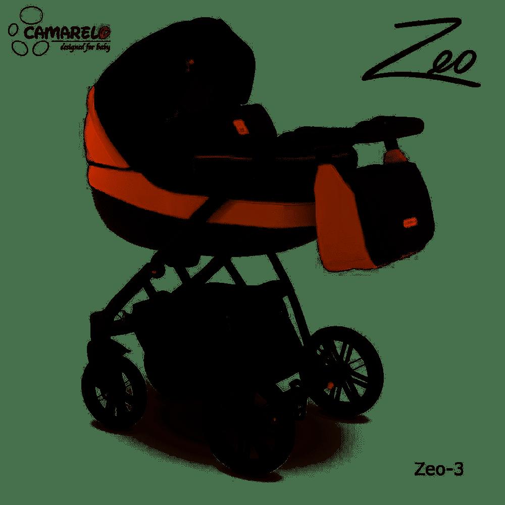 Camarelo Zeo - 3in1 Kombikinderwagen - Zeo-3 schwarz/ braun Bild 1