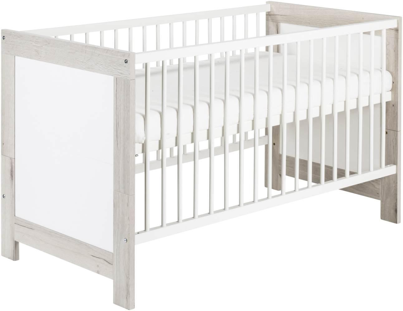 Schardt 'Nordic Haliax' Kombi-Kinderbett weiß Bild 1