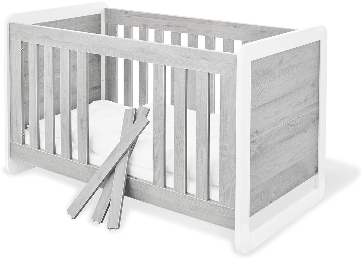 Pinolino 'Curve' Kombi-Kinderbett grau Bild 1