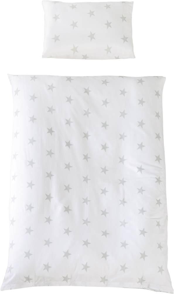Roba 'Little Stars' Kinderbettwäsche weiß Bild 1