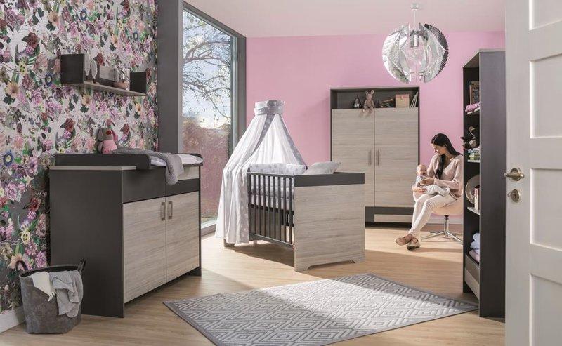 Schardt 'Clou' 3-tlg. Babyzimmer-Set Schrank 2-türig Bild 1