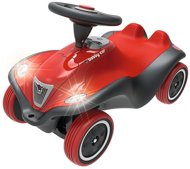 BIG 800056230 'Bobby-Car Next' ab 12 Monaten, bis 50 kg belastbar, rot Bild 1