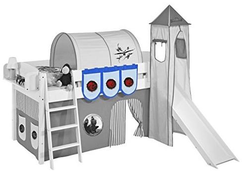 Lilokids 'Dragons' Hängetaschen Blau - für Hochbett, Spielbett und Etagenbett Bild 1