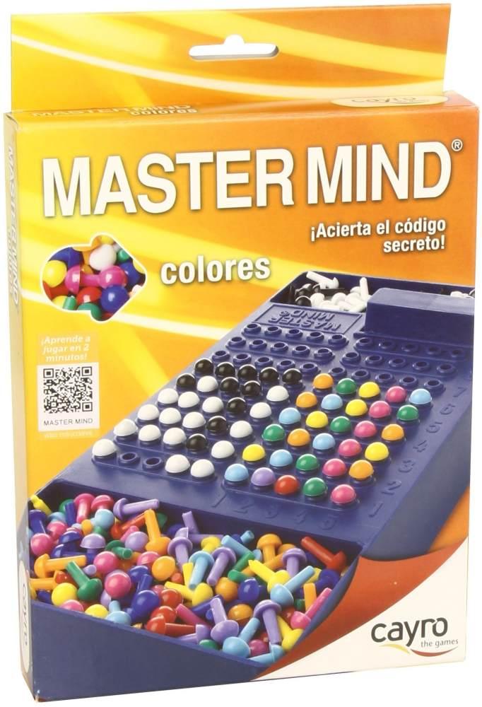 Cayro–Master Mind Farben, Reise-Set + 7Jahre (125) Bild 1