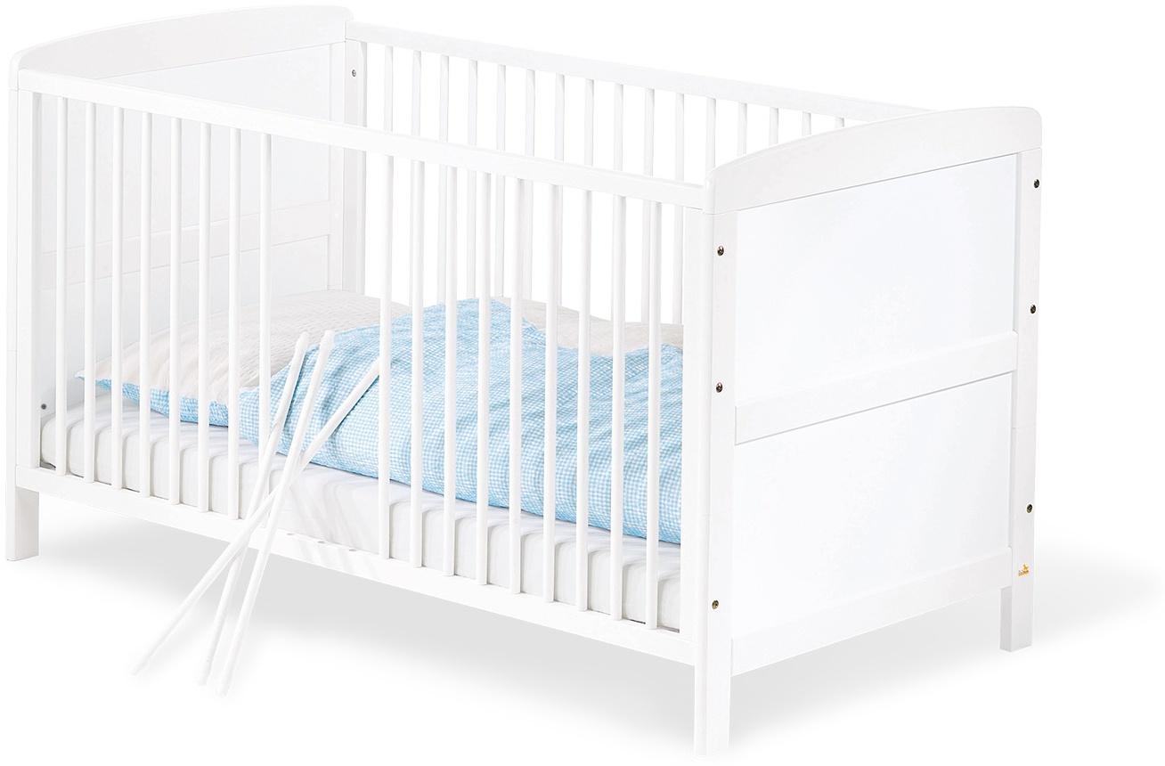 Pinolino 'Viktoria' Kombi-Kinderbett weiß, 70 x 140 cm, umbaubar Bild 1