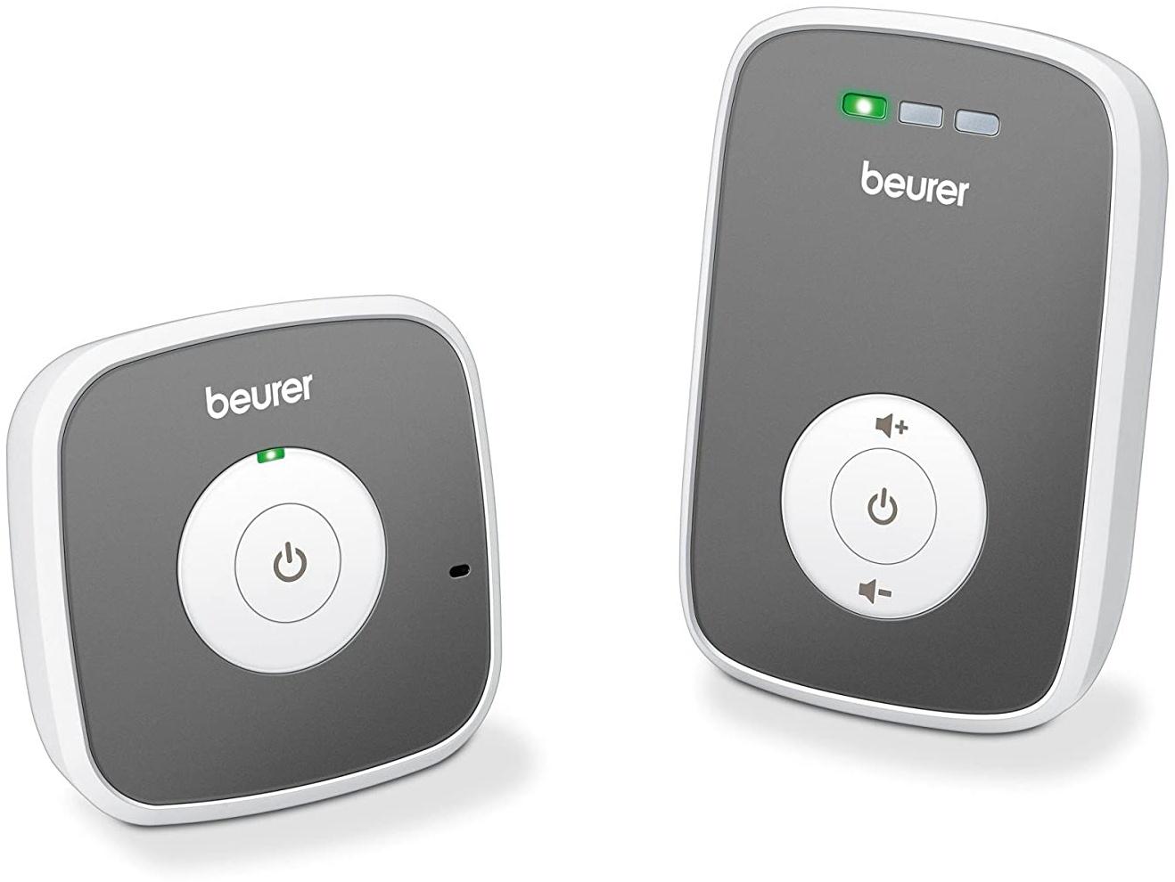 Beurer BY 33 Babyphone, 300 Meter Reichweite, strahlungsarme und energieeffiziente Übertragung Bild 1