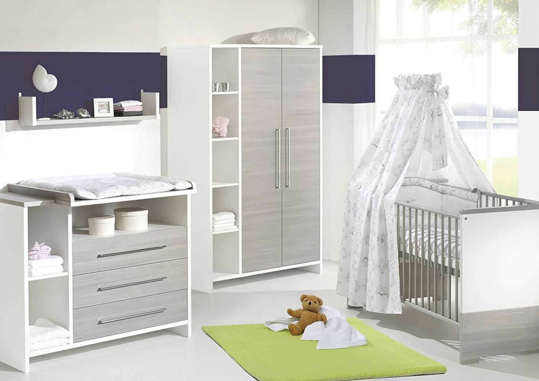 Schardt 'Eco Silber' 2-tlg. Babyzimmer-Set Bild 1