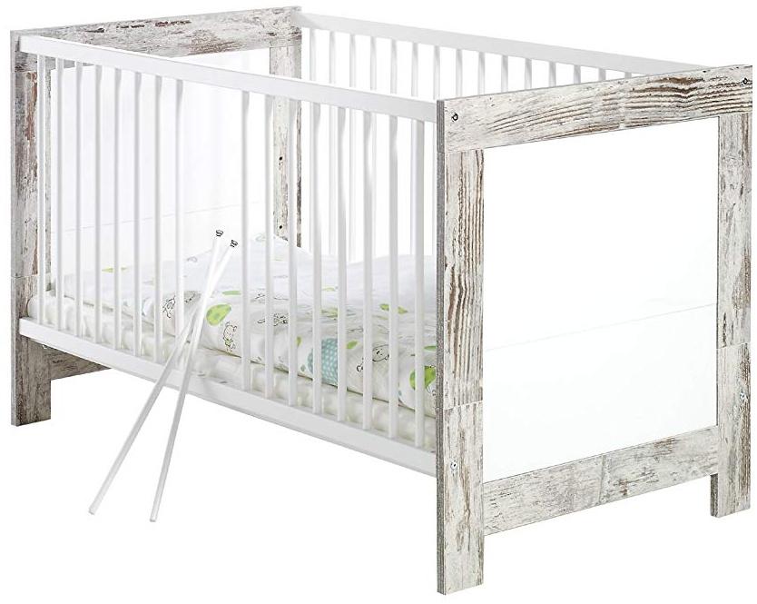 Schardt 'Nordic Chic' Kombi-Kinderbett grau Bild 1