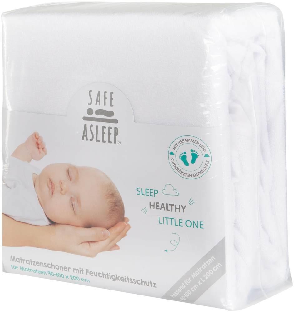 Roba 'Safe Asleep' Spannbettlaken mit Feuchtigkeitsschutz, 100x200 cm Bild 1