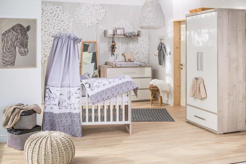 Schardt 'Mick' 3-tlg. Babyzimmer-Set Schrank 2-türig Bild 1