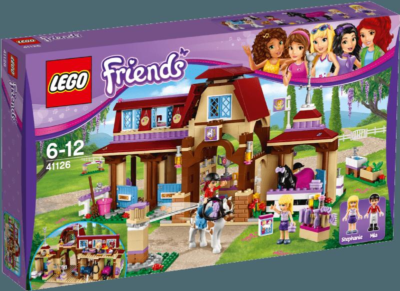 LEGO Friends - Heartlake Reiterhof 41126 Bild 1