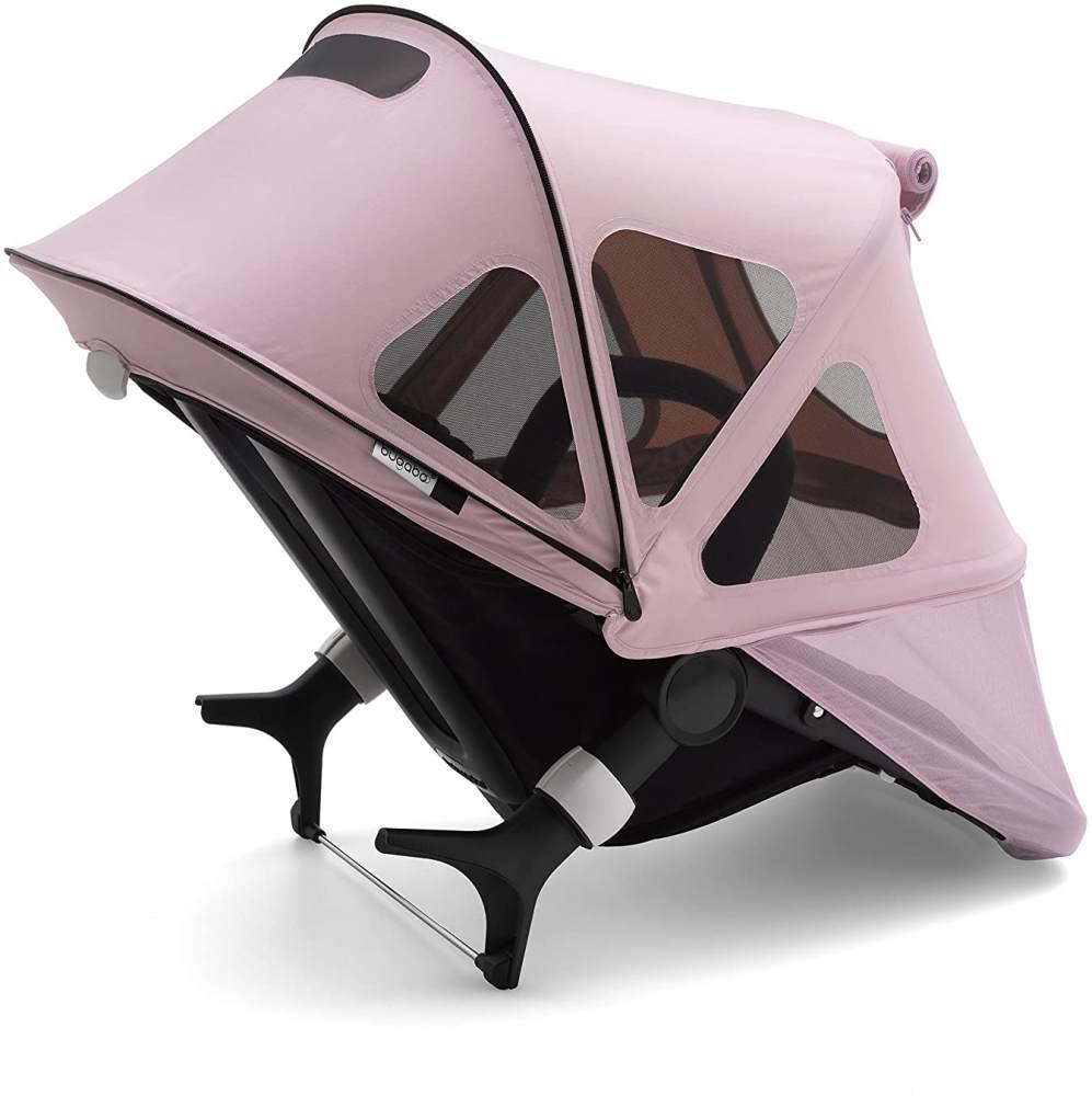 Bugaboo Fox/Cameleon Sonnendach Mit Lüftungsfenstern, Soft Pink Bild 1