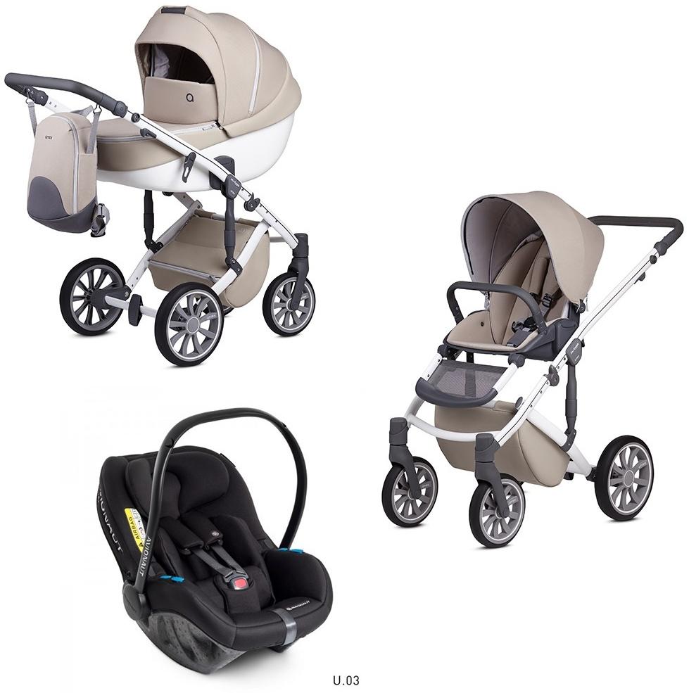 Anex m/type 3 in 1 Kinderwagenset 2020 mit Avionaut Milk Bild 1