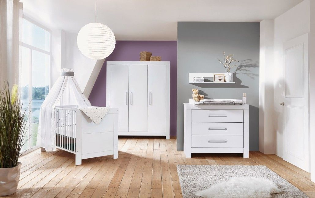Schardt 'Nordic White' 2-tlg. Babyzimmer-Set Bild 1
