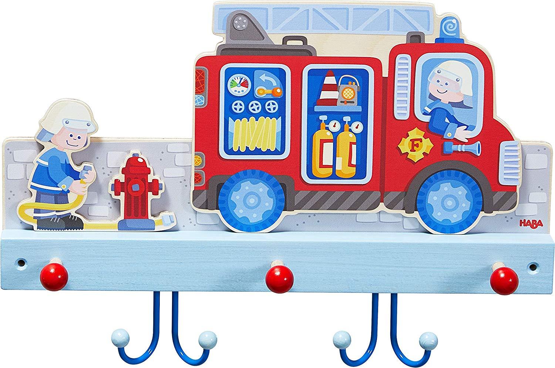 Haba 'Feuerwehr' 304260 - Garderobenleiste Bild 1