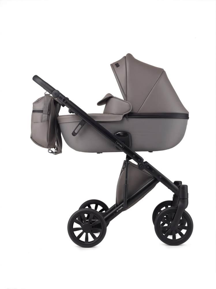 Anex 'e/type' Kombikinderwagen 2 in 1 2020 Gothic inkl. Babywanne Bild 1