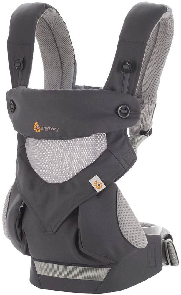 Ergobaby '360° Cool Air Mesh' Babytrage 4-Positionen Carbon Grey Bild 1