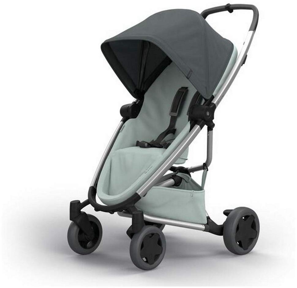 Quinny Zapp Flex Plus Buggy, stylischer Kinderwagen mit viel Komfort und Flexibilität, leicht und extrem kompakt zusammenfaltbar, nutzbar ab der Geburt (z.B. mit Lux Babywanne), graphite on grey Bild 1