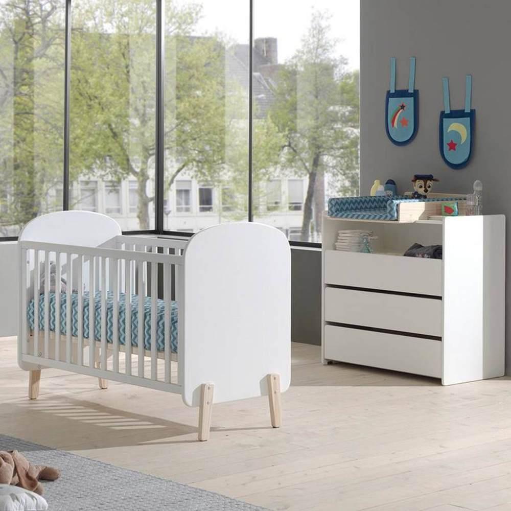 Vipack 'Kiddy' 2-tlg. Babyzimmer-Set 60x120 Bild 1