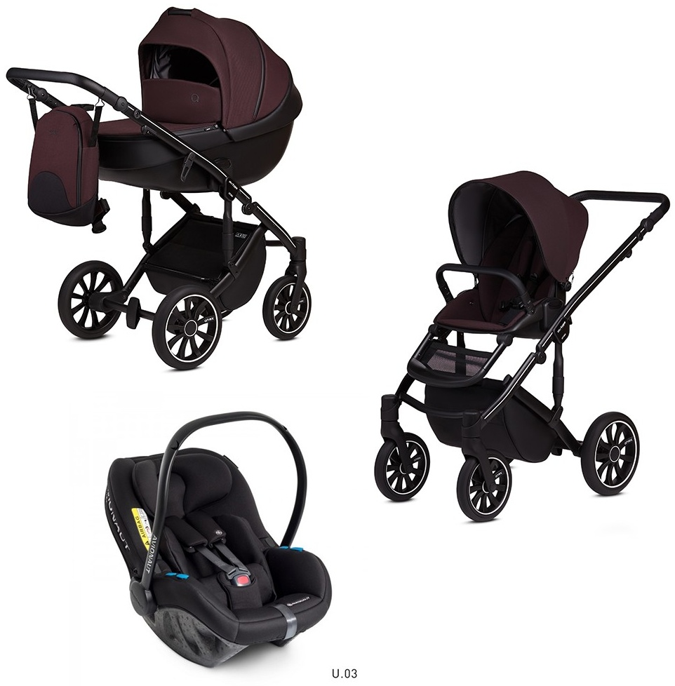 Anex m/type 3 in 1 Kinderwagenset 2020 mit Avionaut Grape Bild 1
