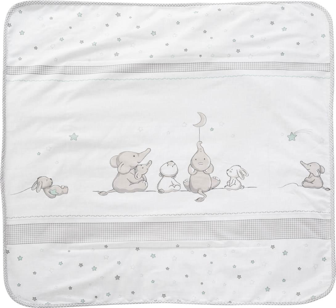 Roba 'Sternenzauber' Babydecke weiß 80x80 Bild 1