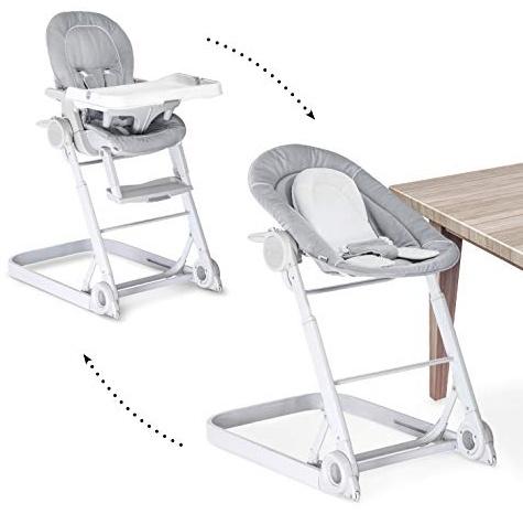 HAUCK 'Sit' Hochstuhl Care 3 in 1' stretch grey Bild 1