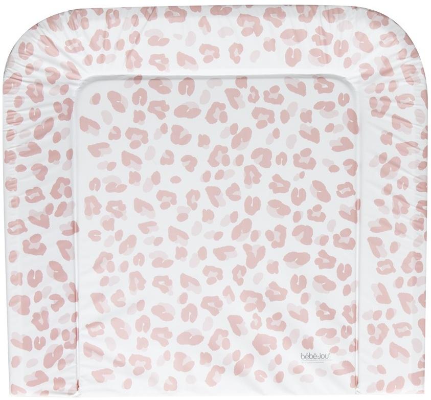 bébé-jou 'Leopard' Wickelauflage pink 72x77 cm Bild 1