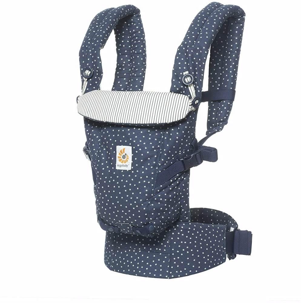 Ergobaby Babytrage für Neugeborene bis Kleinkind, Galaxy Adapt 3-in-1 Tragesystem ergonomisch, Baby-Tragetasche Kindertrage Bild 1