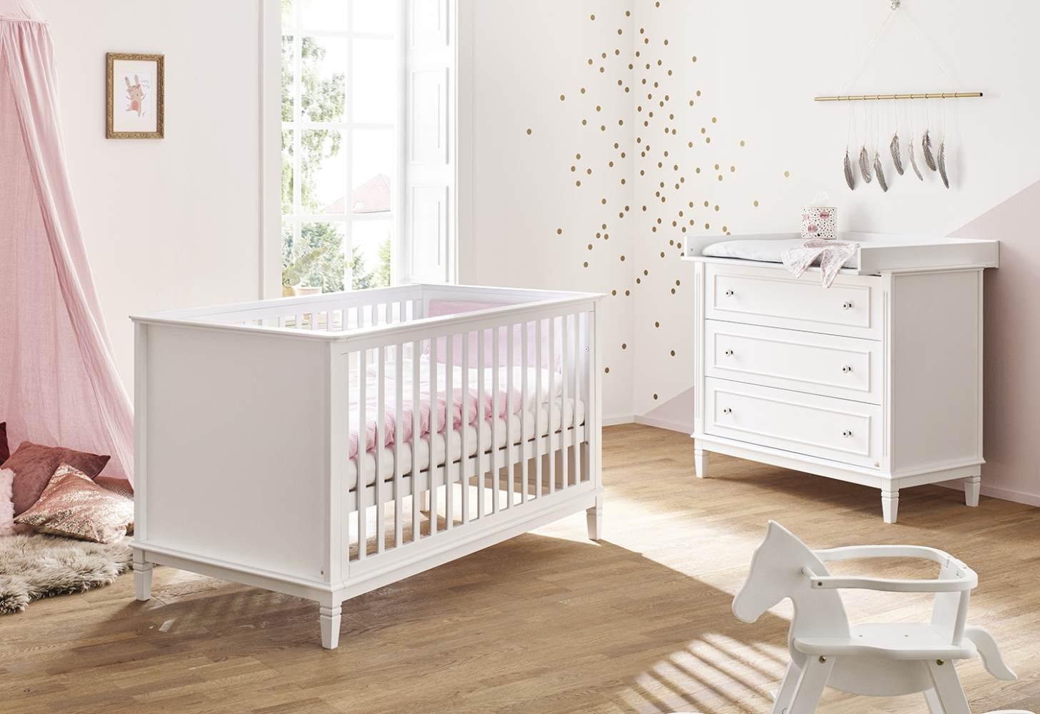 Pinolino 'Hope' 2-tlg. Babyzimmer-Set weiß Bild 1