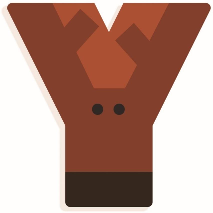 DJECO Holzbuchstabe 'Y' Bild 1