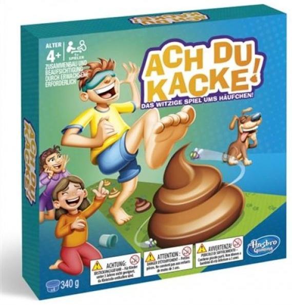 "Hasbro Gaming E2489100 - ""Ach du Kacke!"" Kinderspiel Bild 1"
