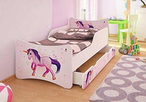 Best For Kids Kinderbett mit Schaummatratze 80x160, pink Bild 1