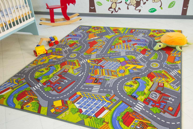 Steffensmeier Spielteppich City, 140x200 cm Bild 1