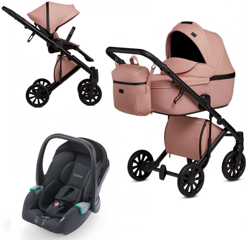 Anex 'e/type' Kombikinderwagen 3 in 1 2020 Peach mit Babyschale Recaro Avan Bild 1