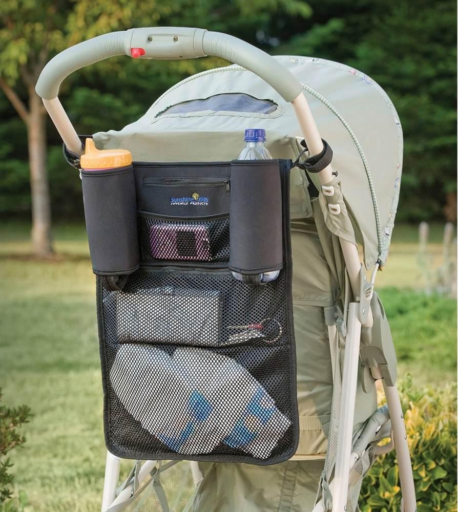 Diono - Kinderwagentasche Mate Flaschenhalter Baby Netz Kind Organizer Bild 1