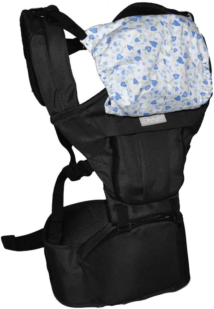 BabyGo Bauch- und Rückentrage Wombat black Bild 1