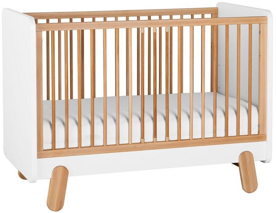Pinio 'I´ga' Babybett weiß / natur Bild 1