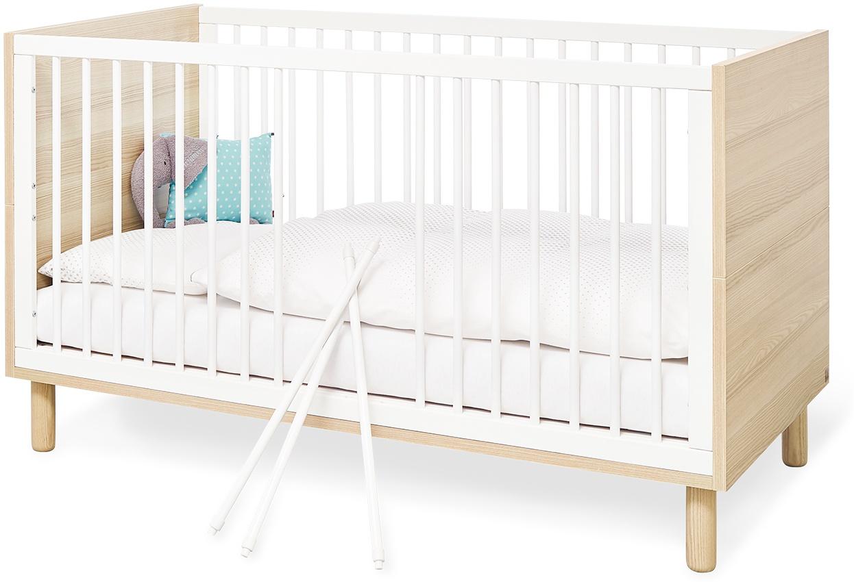 Pinolino 'Flow' Kinderbett weiß/natur Bild 1