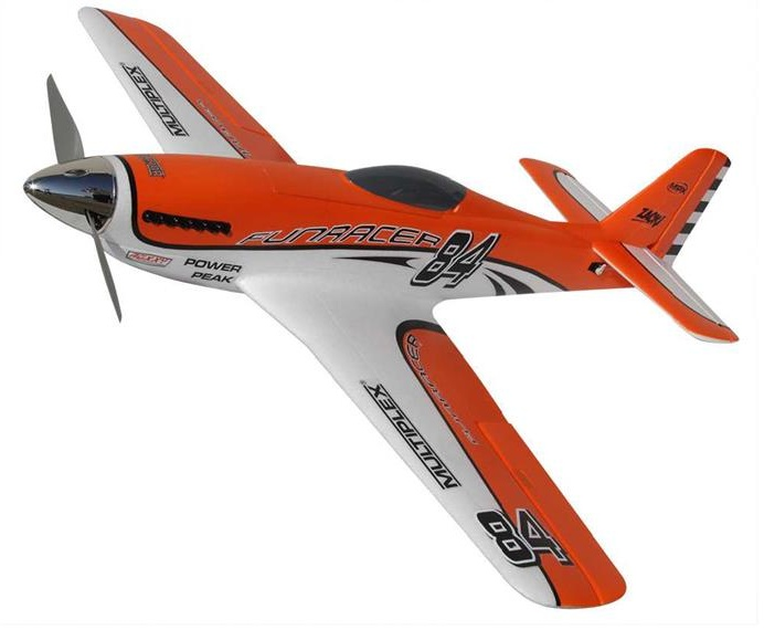 Multiplex FunRacer, Orange Edition RC Motorflugmodell ARF 920 mm Bild 1