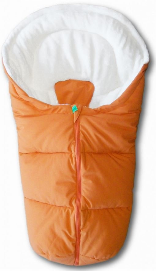 Odenwälder - Fußsäckchen Mirko - Orange, universell einsetzbar Bild 1