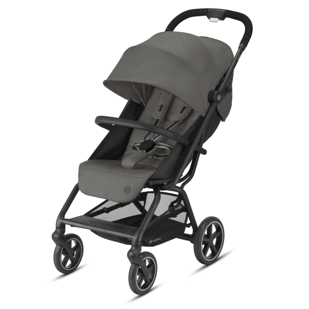 CYBEX Gold 'EEZY S+ 2' Buggy 2021 Black/Soho Grey Bild 1