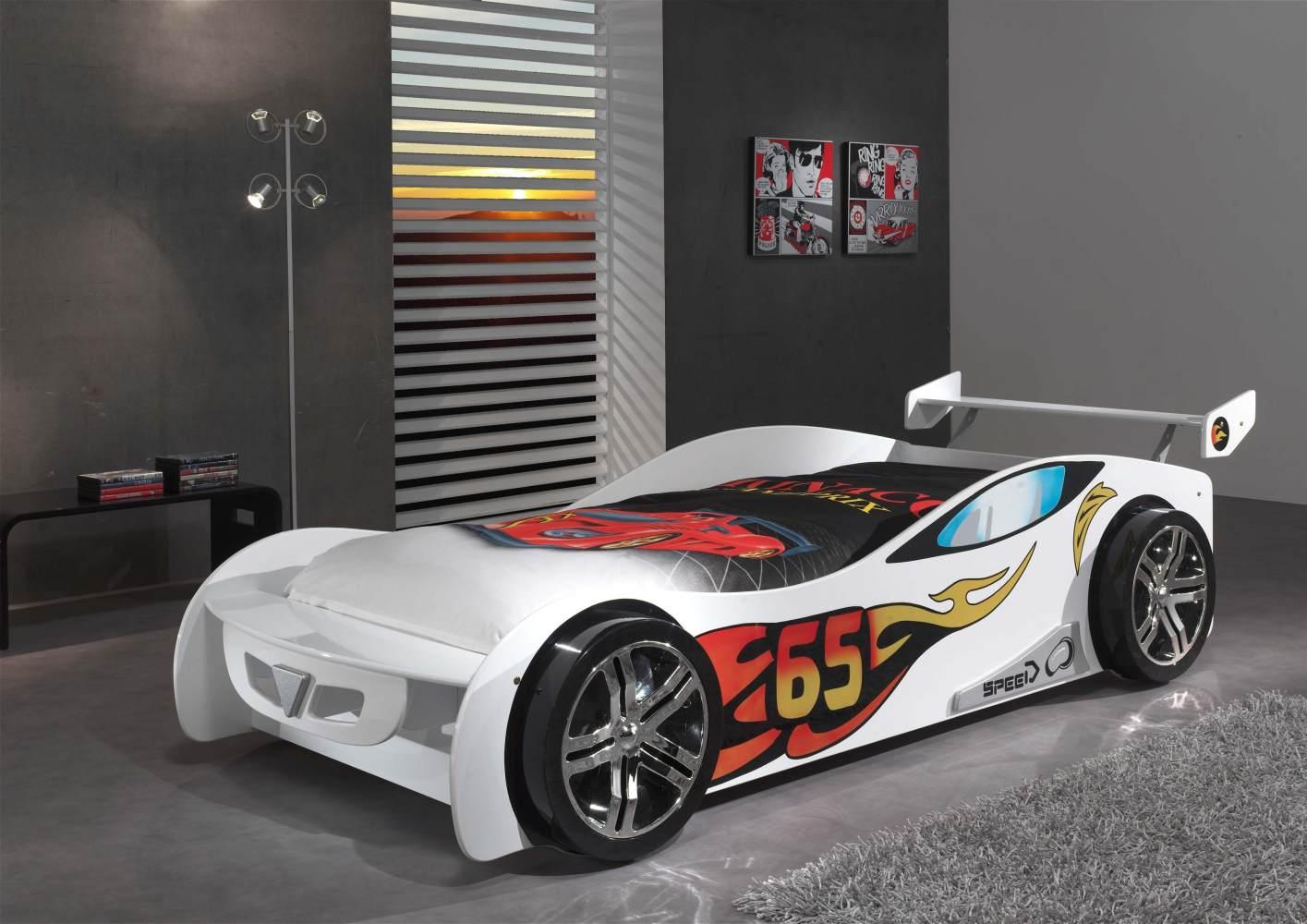 Vipack 'Le Mans' Autobett weiß Bild 1