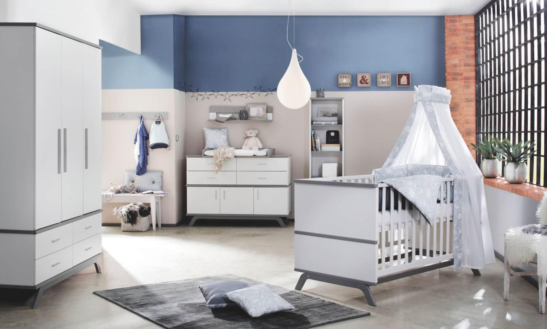 Schardt 'Vicky Grey' 3-tlg. Babyzimmer-Set Bild 1