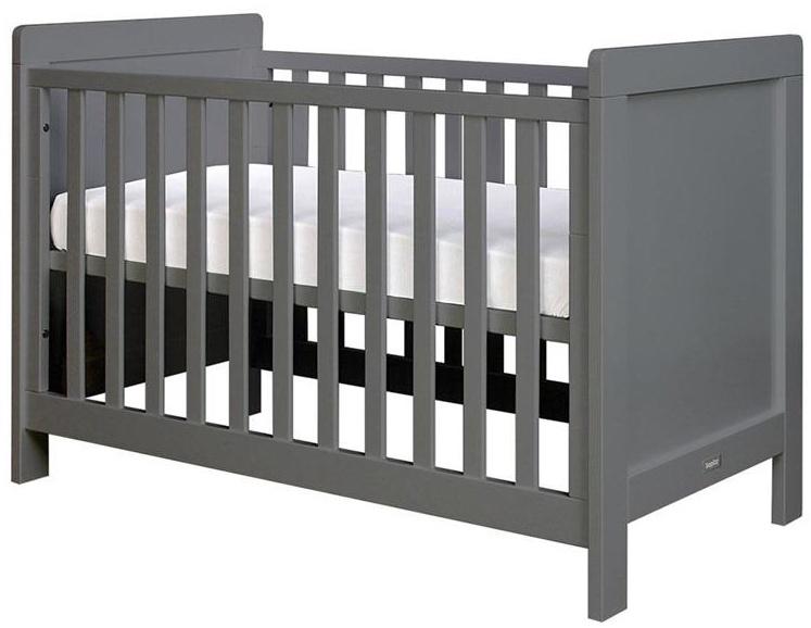 Bopita 'Sven' Babybett dunkelgrau Bild 1