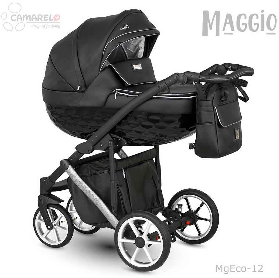 Camarelo Maggio Kombikinderwagen MgEco-12 schwarz/Silber (Eco) Bild 1