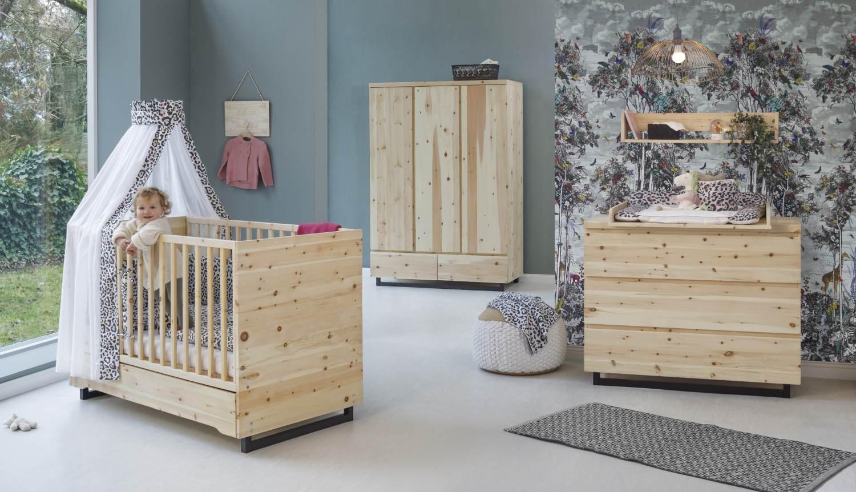 Schardt Zirbenholz 3-tlg. Babyzimmer-Set Bild 1