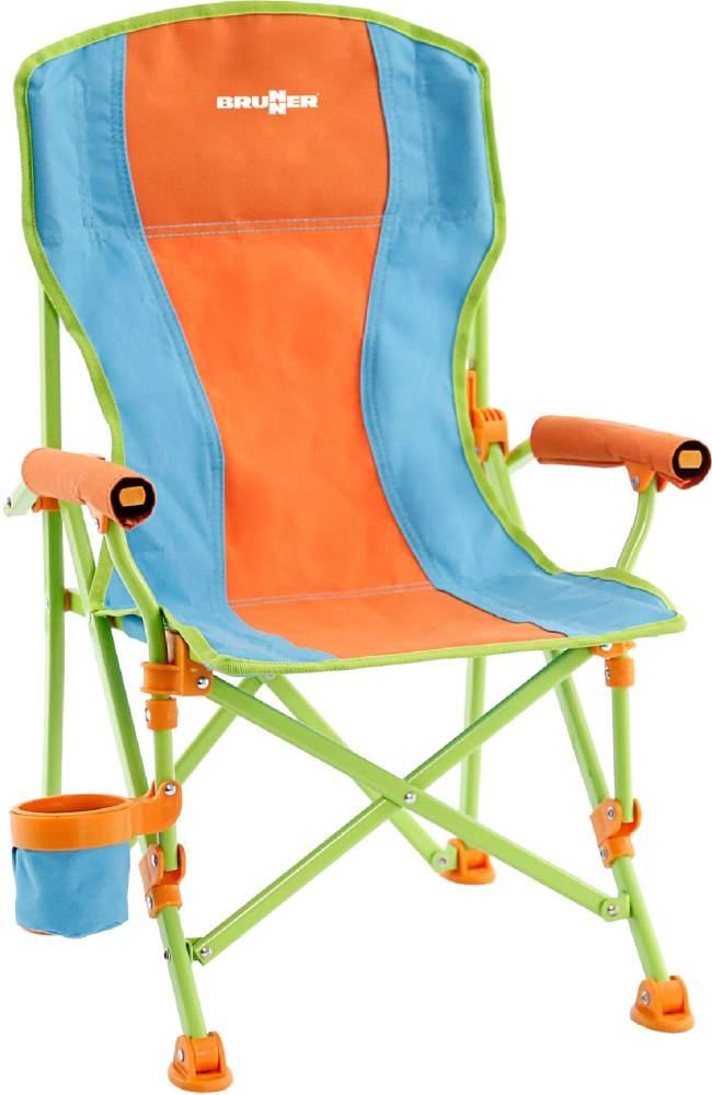 Brunner Faltstuhl für Kinder blau/orange Bild 1