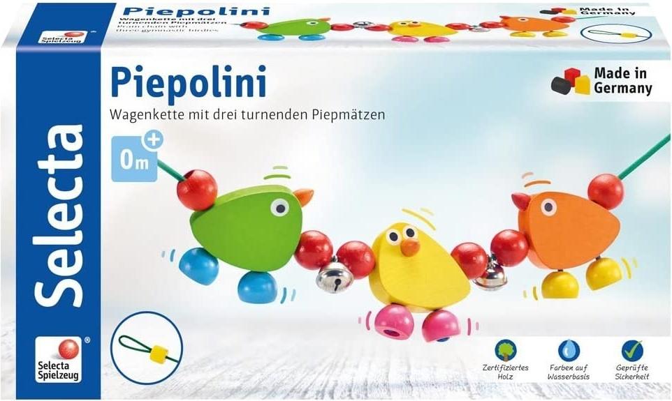 Selecta 61018 Piepolini, Kinderwagenkette, 56 cm Bild 1