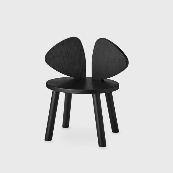 Nofred 'Mouse' Kinderstuhl schwarz Bild 1