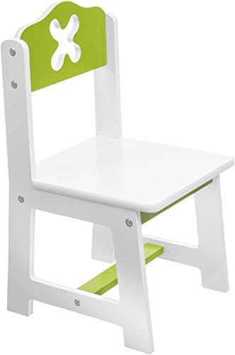 Bieco Kinderstuhl weiß/grün Bild 1